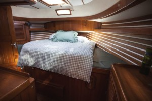 Aft Cabin in 2012, before moving aboard