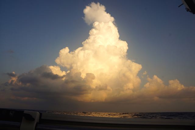 Another thunder cloud . . .