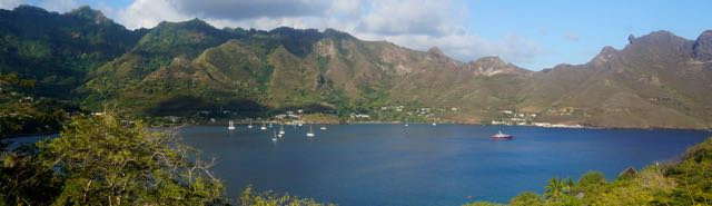 Marquesas Taiohae from Heloise