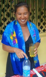 Our dear friend and nurse, Raymonde Ly-Falchetto, living on Nuku Hiva